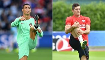 Polonia vs Portugal: ¿apuestas por Cristiano o por Lewandowski?