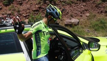 Contador abandona el Tour; un rival menos para Froome