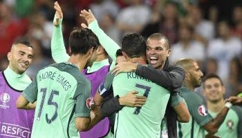 El camino de Portugal y Francia hacia la final de la Euro 2016