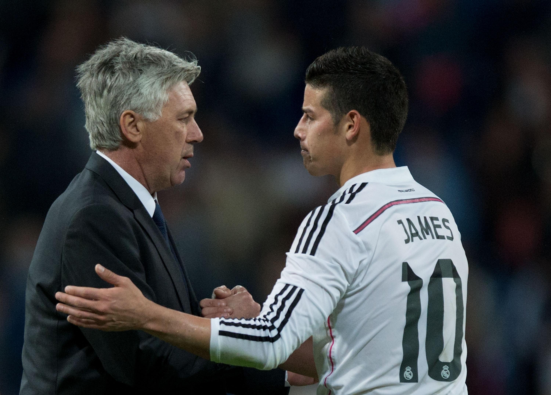 Los motivos de Ancelotti para llevar a James al Bayern de Múnich