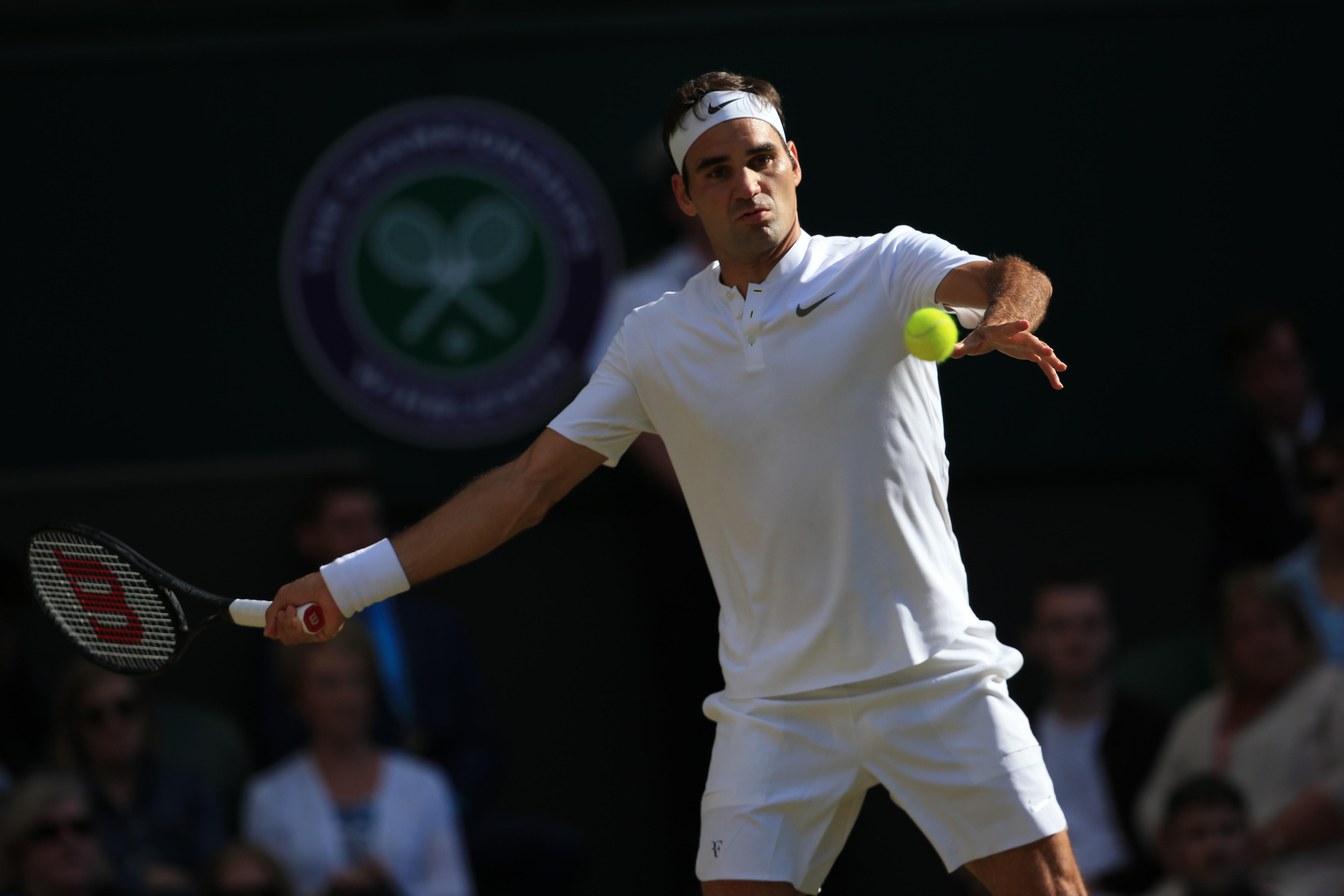 Federer vs Cilic: el suizo llega con un 'set' a la final de Wimbledon