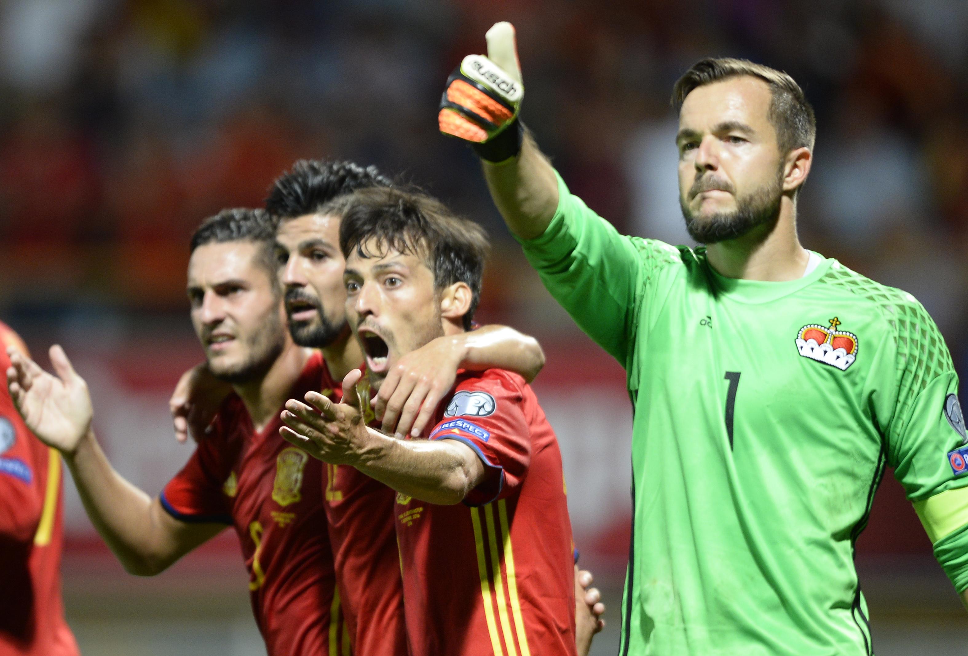 Los 14 céntimos más lógicos del Liechtenstein vs España