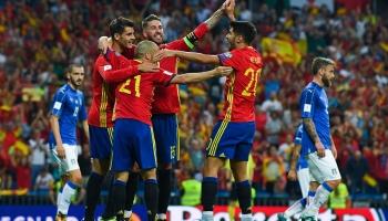 España y el gol sin Morata ni Costa