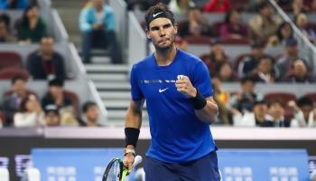 Masters 1000 Shangai: Nadal llega como rival a batir con permiso de Federer
