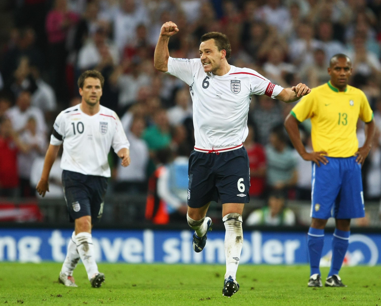 Inglaterra vs Brasil: 1-1, el resultado estrella