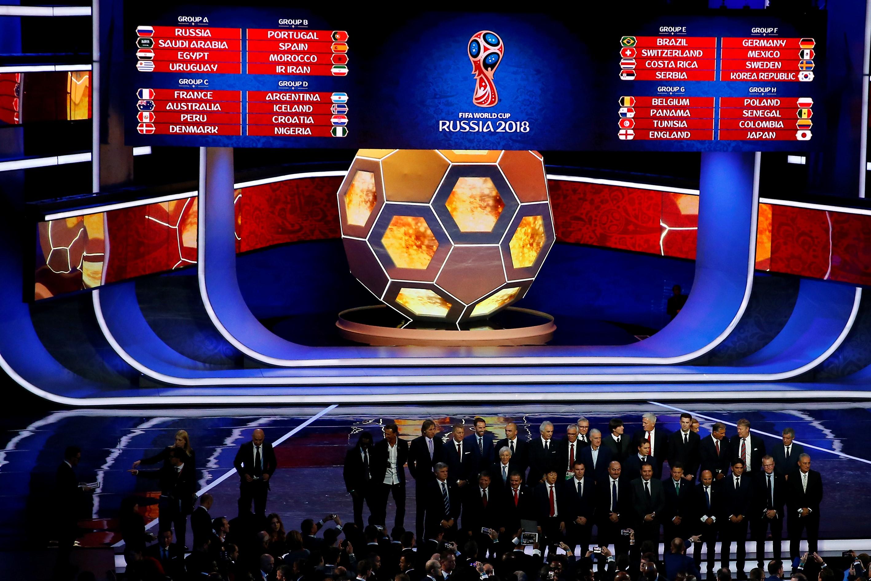 La gran infografía del Mundial: grupos y cuotas para Rusia 2018
