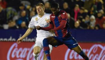 Real Madrid-Levante: extrema necesidad contra golpe de fuerza