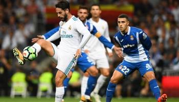 Espanyol-Real Madrid: claro color blanco en las apuestas