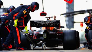 Coches y neumáticos en Fórmula Uno