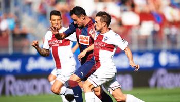 Huesca – Eibar: atractivas cuotas en un duelo con mucho más en juego de lo que parece