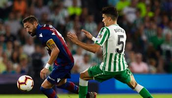Levante – Real Betis: aunque por motivos diferentes, ambos necesitan ganar para escalar