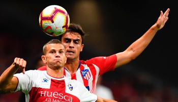 Huesca-Atlético de Madrid: el último recibe al segundo en un partido que puede dar alguna sorpresa