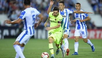 Barcelona-Leganés: camino llano para la victoria del líder