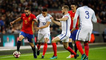 España – Inglaterra: Inglaterra teme otra exhibición de España