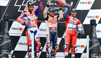 MotoGP de San Marino: se reanuda la carrera por el título