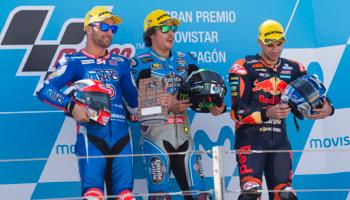 Moto2: la lucha por el campeonato llega a Aragón más caliente que nunca