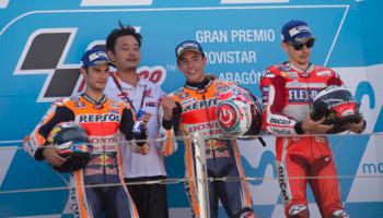 MotoGP de Aragón: Márquez quiere acercarse al pentacampeonato
