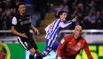 Deportivo-Málaga: la puerta a cero o el 'efecto Chory'