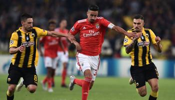 Benfica – AEK Atenas: duelo por el honor en la última jornada de Champions League
