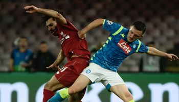 Liverpool-Nápoles: choque crucial que define el grupo de la muerte de esta Champions League