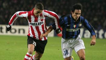 PSV Eindhoven – Inter de Milan: un encuentro muy parejo con una ligera superioridad a favor de los italianos
