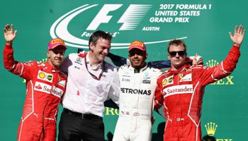 Gran Premio de Estados Unidos: Hamilton cada vez más cerca del campeonato