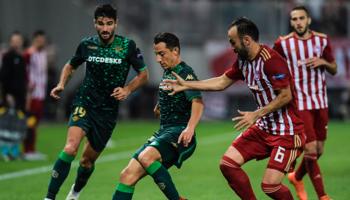 Real Betis-Olympiakos: carrera para clasificar cuanto antes en la Europa League