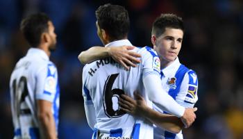 Real Sociedad-Espanyol: duelo apretado entre blanquiazules