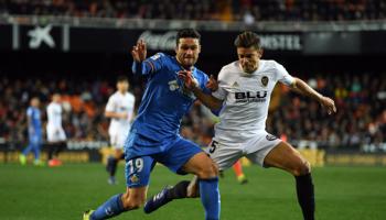 Valencia – Getafe: apasionante duelo en la lucha por las plazas de copas internacionales