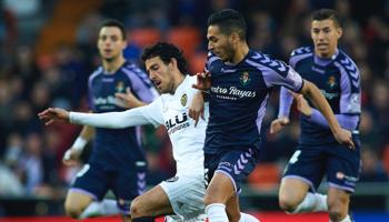 Real Valladolid – Valencia: partido clave para la visita, que si gana está en la próxima Champions League