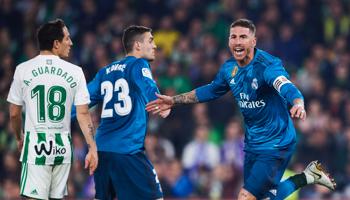 Real Betis – Real Madrid: los Merengues no pueden darse el lujo de volver a fallar