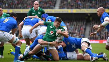 Italia – Irlanda: el campeón defensor viaja a Roma para seguir sumando en el Seis Naciones