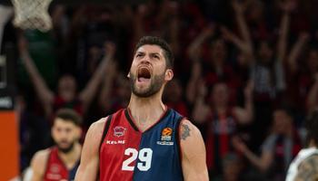 Baskonia Vitoria-Zaragoza Basket: primer asalto para lograr la clasificación a semis.