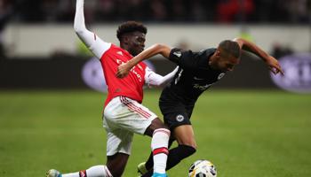 Arsenal-Eintracht Frankfurt, los alemanes definirán su futuro ante los gunners