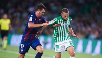 Levante – Real Betis: a juzgar por el historial, en este partido habrá muchos goles