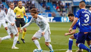 Real Madrid – Alavés, los merengues acarician el título
