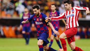 Barcelona – Atlético de Madrid: ¡partidazo decisivo para el campeonato de La Liga!