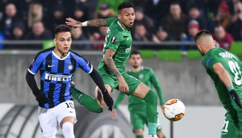 Inter de Milán-Ludogorets: los Nerazzurri tienen la fiesta organizada para clasificarse a la siguiente fase