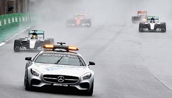 La voiture de sécurité et les drapeaux en F1