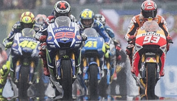Qualification et essai libre en MotoGP