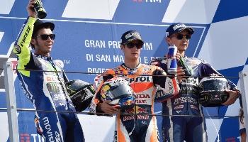 Moto GP de Saint-Marin: qui remportera la course en 2017 ? Nos pronostics.