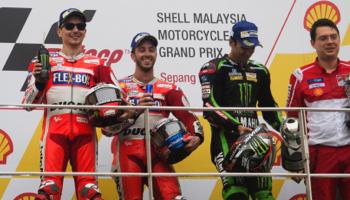 Moto GP de Malaisie : Dovizioso triple vainqueur