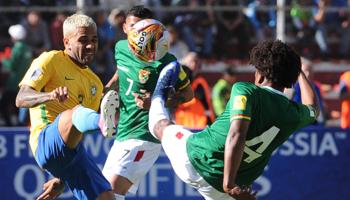 Brésil – Bolivie : les Auriverdes devraient facilement s'imposer à domicile