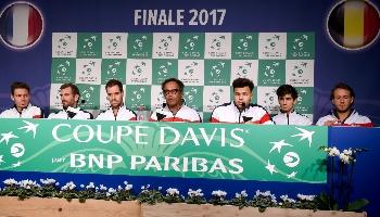 Finale de la Coupe Davis : Pariez sur France – Belgique