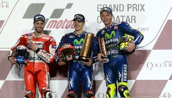 Moto GP du Qatar : Dovizioso favori pour remporter la première course.