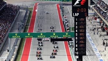 Calendrier Formule 1 2018 et Circuits F1