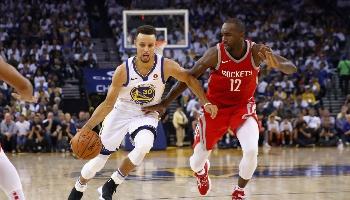 Houston – Golden State : pariez sur la finale NBA de la conférence ouest !