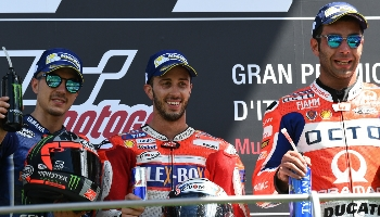 Moto GP d'Italie, quatre à la suite pour Marquez