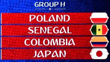 Colombie – Japon : dans le même groupe quatre ans plus tard !