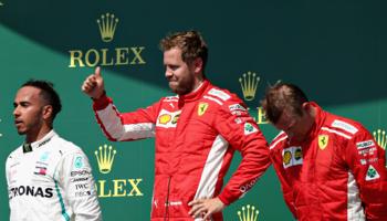 F1 GP de Grande Bretagne : deux Ferrari sur le podium l'an dernier